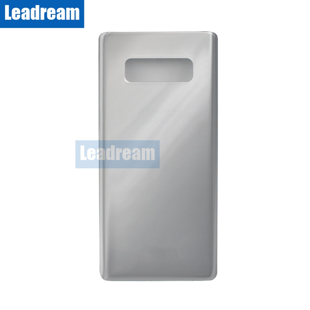 50PCS Back Battery Door Housing Cover Rear Door Back Glass with Adhesive for Samsung Galaxy Note
