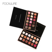 FOCALLURE 18 Colors Eyeshadow Palette Shimmer Matte Pigment Eye Shadow Cosmetics Mineral Matte Colors With Shimmer