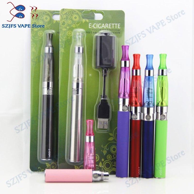 Electronic Cigarette Ego Ce4 Blister Kit 1100mah Ego Battery With Ce4 Atomizer E-cigarettes EGO CE4 Ce5 Vape Shisha Pen Kit