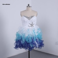 In Stock Free Shipping Cheap Colors White Royal Sky Blue Cute Short Homecoming Dresses Under 100