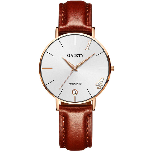 Fashion Couple Watch Casual Quartz Men Women Wristwatch Female Male Clock Lovers Watches Leather Strap Relogio Feminino Gift New