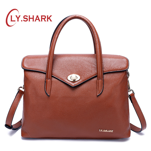 LY.SHARK Messenger Bag Women Bag Ladies Genuine Leather Handbag Women Shoulder Bag For Female Bags Women Handbags For Women 2018 2018 women handbags leather handbag women messenger bags ladies brand designs bag famous bags handbag purse messenger bag 3 sets