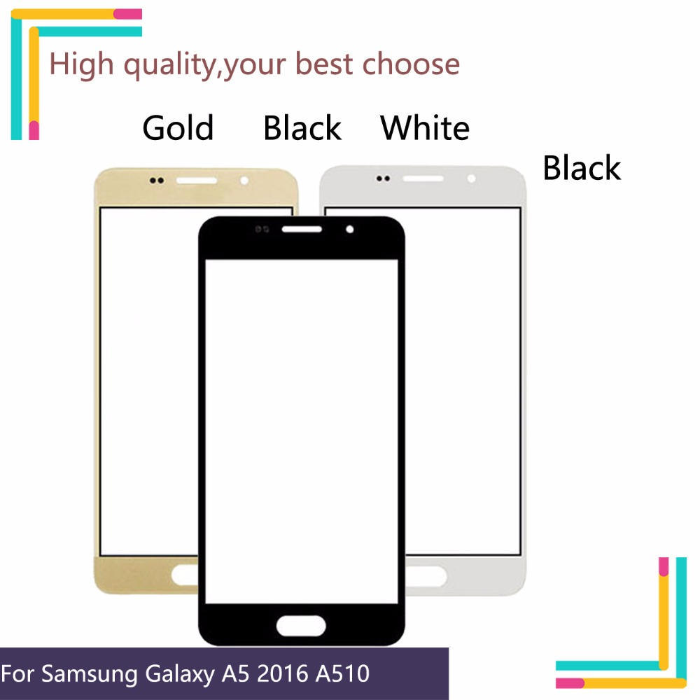 TouchScreen For Samsung Galaxy A5 2016 A510 A510M SM A510F A510F Touch Screen Front Panel Glass