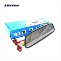 For Renault Clio 3 4 Lutecia Rearview Mirror Car Monitor Screen Display HD TFT LCD NTSC