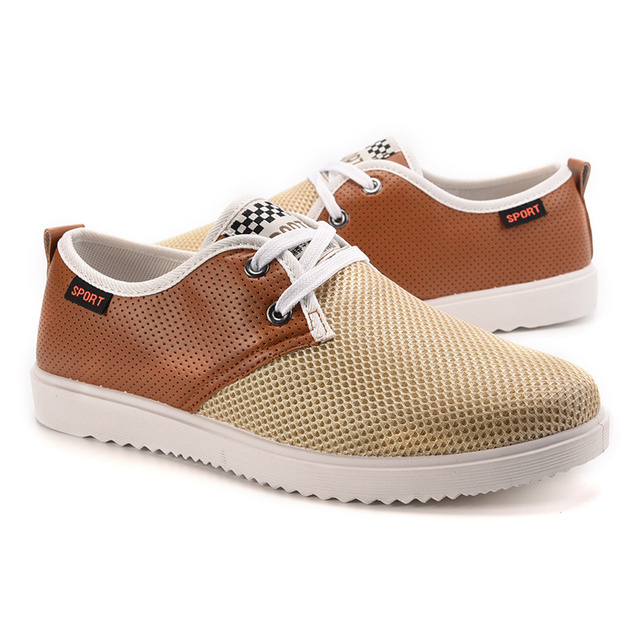 94d4f136 2016 Men Shoe Canvas Shoes Spring Autumn New Mesh Zapatos Hombre Mens  Fashion Zapatos Casual Youth Man Slip-on Free Shipping