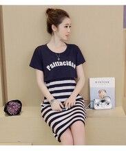 Summer 2016 Breastfeeding Nursing Dresses Maternity Dress For Pregnancy Clothes For Pregnant Women Stripe Skirt Feeding Clothing