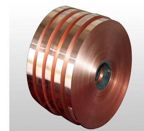 Thickness: 0.2mm Width: 10mm Pure T2 Copper Cu Metal Sheet Copper Belt Copper Strap Copper Strip