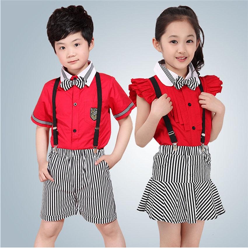 Children's Day Party Kids Student School Uniform 110 160cm