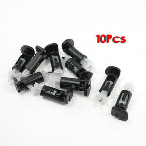 Hot 10 Pcs Plastic Mounting Clip heatsink for Intel 4 Way CPU Coolers