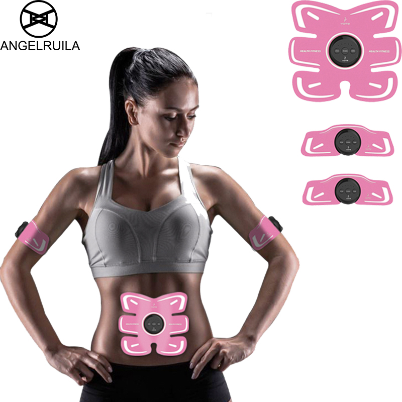 Acupuntura Multifunction Muscle Stimulator Ems Abdominal Traine Body Intensive Trainingr Electric Weight Loss Slimming Massager цена 2017