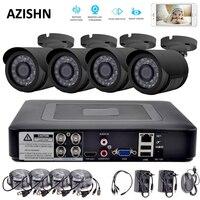 4CH CCTV System 720P HDMI AHD CCTV DVR 4PCS 1 0 MP IR Outdoor Security