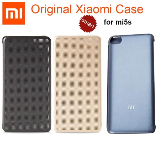 best loved 69850 27c74 US $28.11 |100% Original Xiaomi Mi5S Flip Case 5.15