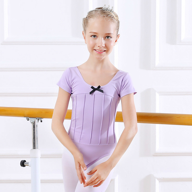 a8b8322b6 Girls Ballet Leotards Kids Ballet Clothes Dancewear Black Cotton ...