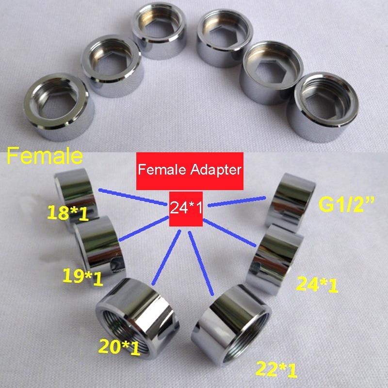 Female M24 Brass Converter Faucet connector adapter M16 M18 M20 ...