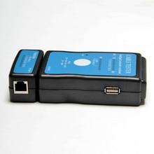 RJ-45 RJ-11 сетевой LAN USB кабель тестер многомодульная LAN USB Сеть RJ45 Cat5 RJ11