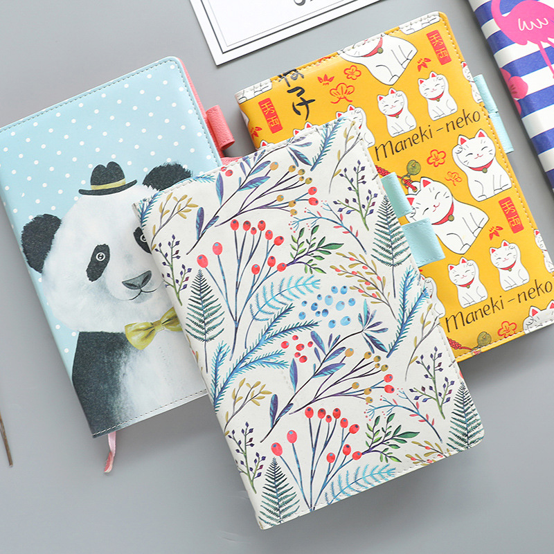 1pcs notebook hand book stationery creative PU leather notebook small fresh B5 large hand book diary bicelle hydra b5 toner 240ml fresh