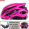 Kingbike capacete de bicicleta ultraleve, capacete de ciclismo para montanha, estrada, mtb, capacetes de luz traseira para homens e mulheres, esportes ao ar livre 16