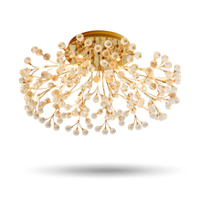 Buy types chandeliers and get free shipping on aliexpress europe type crystal chandeliers lamp circular dining room living room g4 led lighting goldsilver aloadofball Image collections
