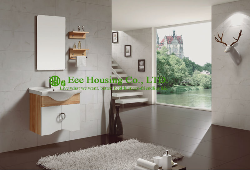 Badkamermeubel beste prijs groothandel mable oppervlak badkamer goedkope make vanity tafel, verlichte make upspiegel, side kast