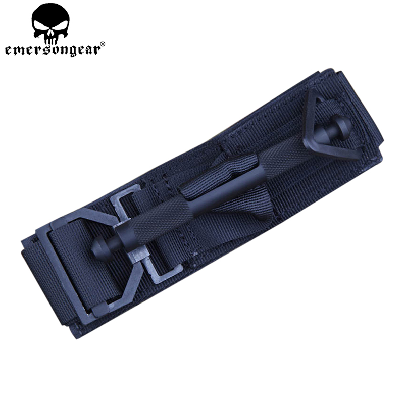 EMERSONGEAR Tactical Tourniquet Survival Game Wargame Issue First Aid Emergency Survival Medical Accessories Black Blue EM7866