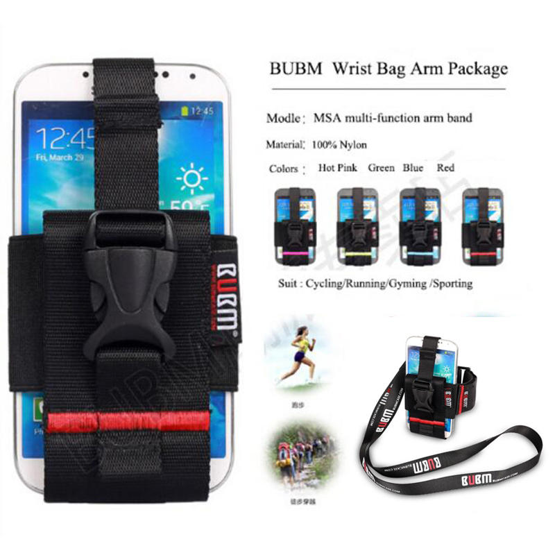 Case For HTC M9 BUBM Outdoor Running Gym Arm Band Covers For Samsung Galaxy Note 5 S7 Universal Phone Holder Arm Wrist Leg Belt