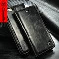 Luxo original magnet leather flip case para iphone 6 caseme 6 s único projeto do ímã case para iphone6 plus com frete presente