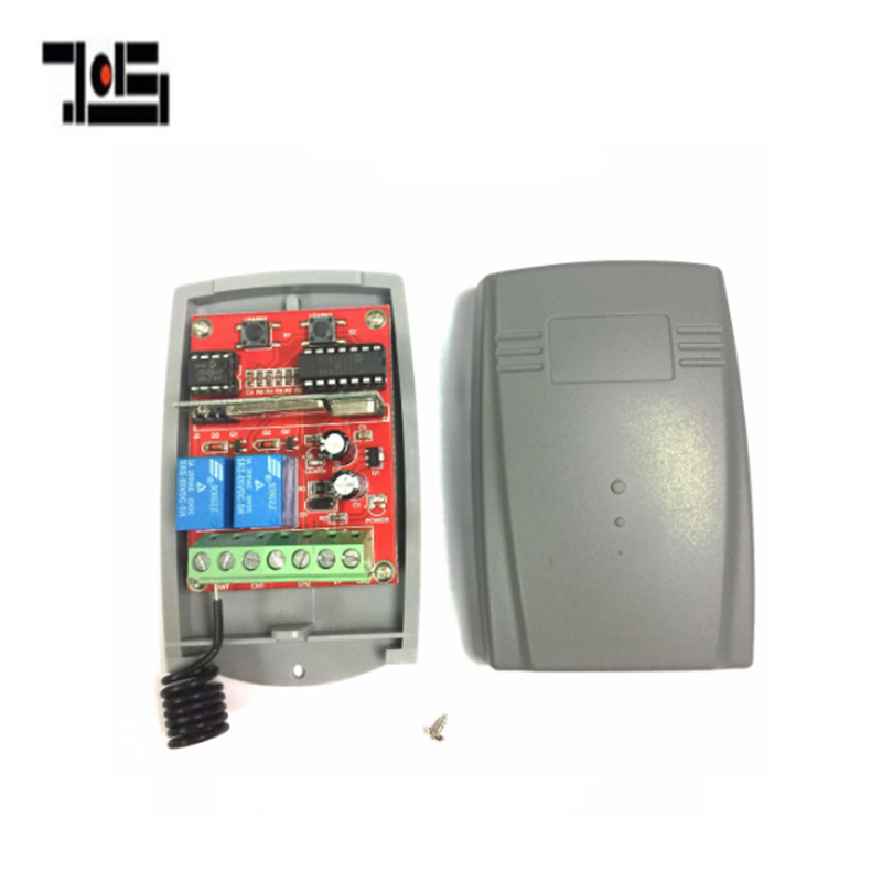 12-24V DC 433mhz Receiver Compatible FAAC  DOORHAN V2 MHOUSE MOOVO PUJOL DITEC Rolling Code Remote Control