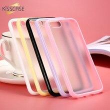 KISSCASE Для iPhone 6 7 6 S Плюс Красочные Конфеты Чехол ТПУ Рамка + матовая Ясно Задняя Крышка Для Apple iPhone 7 6 6 S Плюс Коке Fundas