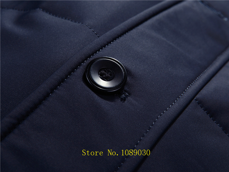 Großhandel Russland Winter Jacke Für Männer Hohe Qualität Pelzkragen Langen Mantel Marke Dicke Warme Herren Daunenjacke Doudoune Homme Wind Hut Unten