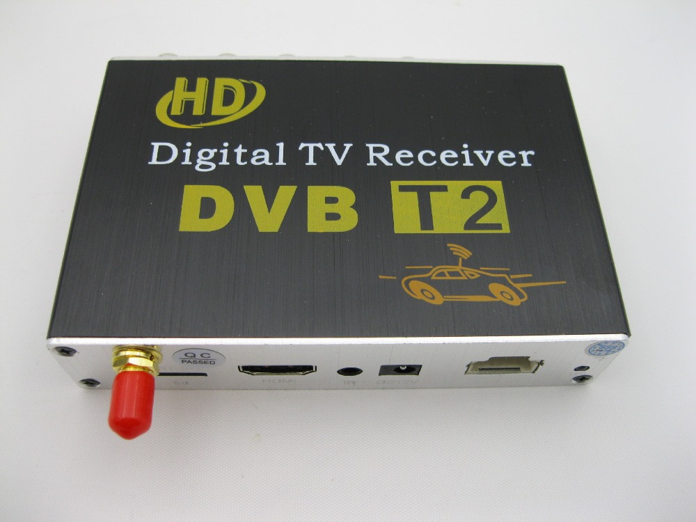 USB slot HD mobile digital Car DVB-T2 Mobile DIGITAL TV TUNER RECEIVER автомобильные телевизоры mdh car hd dvb t