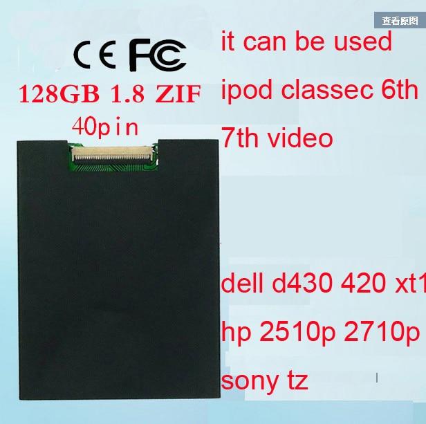 Nouveau 1.8 pouces ce/zif SSD 64 GB à semi-conducteurs pour iPod Classic 3Gen 160 GB remplacer MK1634GAL MK1231GAL HS12YHA MK8022GAA
