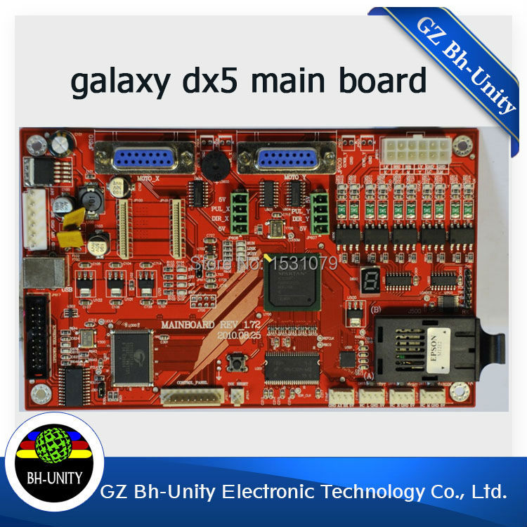 factory price ! ! large format inkjet galaxy printer mother board/main board with dx5 printhead for sale t by alexander wang короткий комбинезон