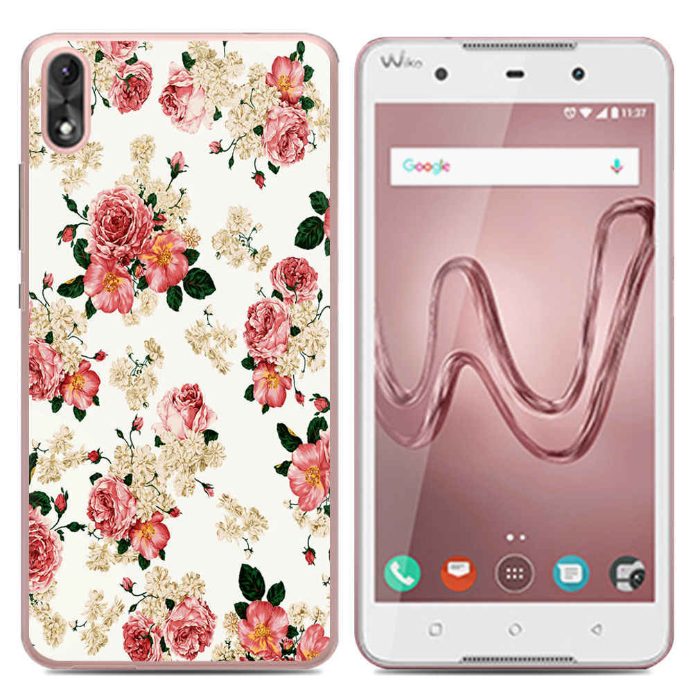 Nieuwe Collectie Phone Case Voor Wiko Robby 2 5.5-inch/Lenny 5/Jerry 3/Tommy 3 /View Lite Mode Painted TPU Siliconen Soft Case