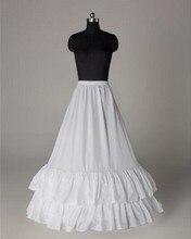 Белые свадебные юбки для линии свадебное платье 2017 Wdding аксессуары Женщины Underskirt crinoline jupon