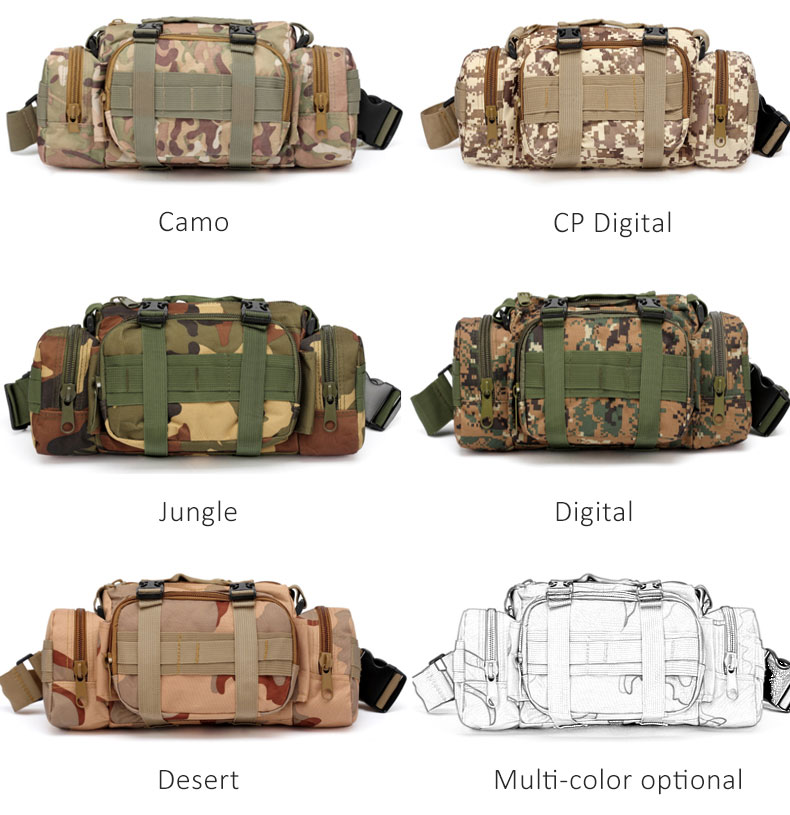 HTB1L1RAFnlYBeNjSszcq6zwhFXaz - Outdoor Military Tactical Waist Bag Waterproof Nylon Camping Hiking Backpack Pouch Hand Bag military bolsa Style mochila