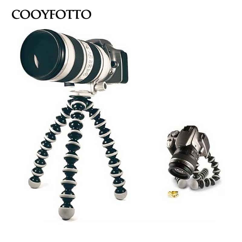 Large Octopus Flexible Tripod Stand Gorillapod for phone telefon Mobile Phone smartphone dslr and camera Table Desk mini tripod ...