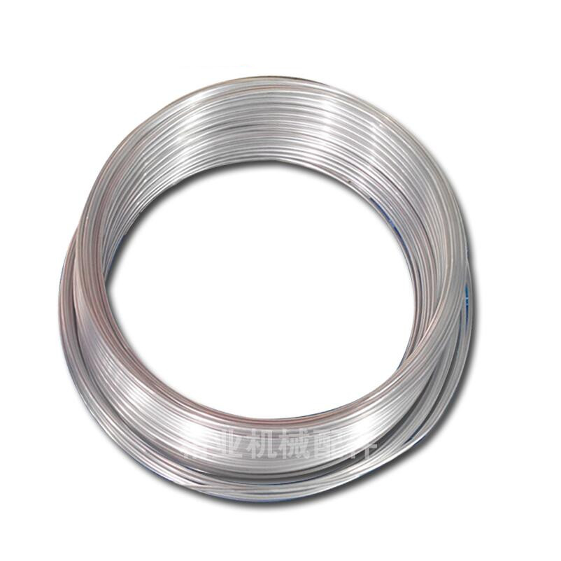 1Meter Aluminum Lubricating Oil Pipe Tube Coil OD 4/6/8/10mm 1mm Thickness Air Conditioning Refrigeration Plumbing
