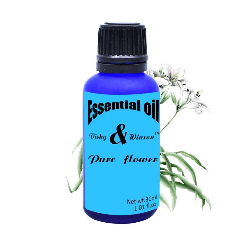 Vicky & winson Tiszta virág aromaterápiás illóolajok Vízben oldódó aroma kemence aroma párásító illóolaj 30ML VWXX16