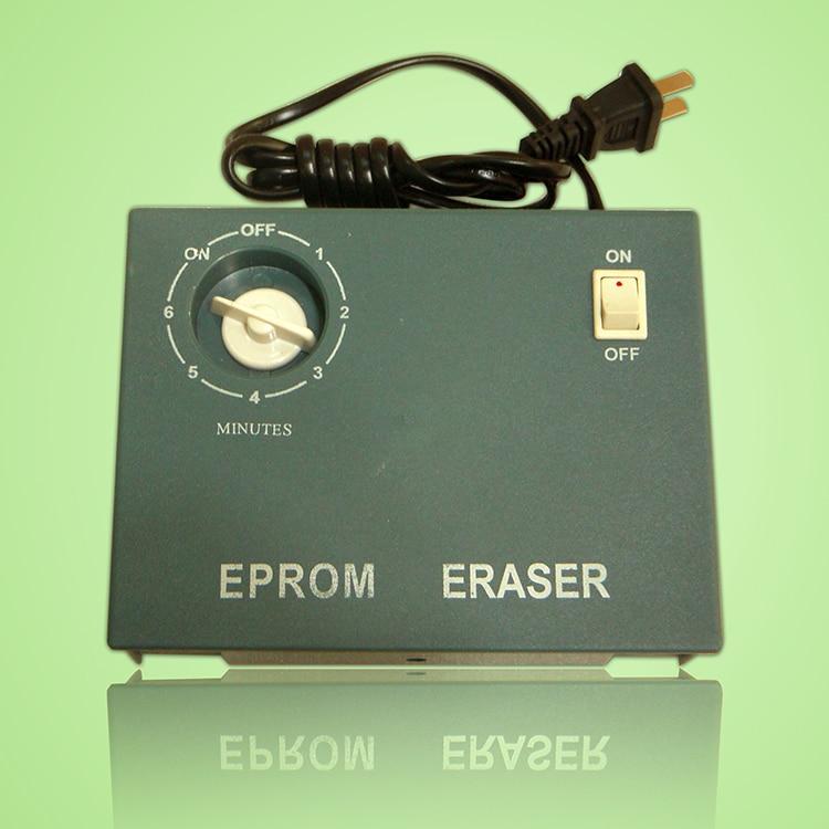 Free shipping New 110V to 240V Ultraviolet UV Light EPROM Chip Data Eraser Eraseable Timer M27C ластик brand new eraser