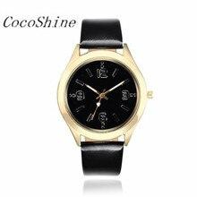 A-898 CocoShine Meninas Pulseira de Couro Relógios De Quartzo Analógico Esporte Data Digital Relógio de Pulso por atacado Frete grátis