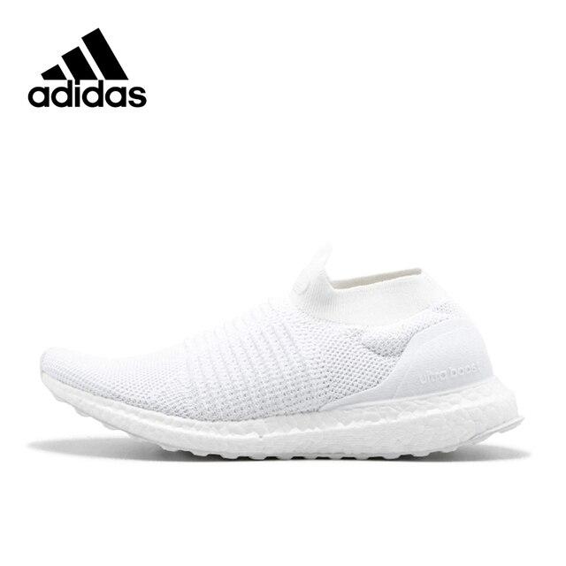competitive price 42154 61437 Adidas Original nueva llegada oficial ultra Boost sin cordones 4.0 hombres  Zapatillas para correr deportes sneakers