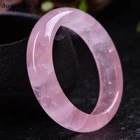 Wholesale JoursNeige Fine Pink Natural Crystal Bangles Beauty Bracelets for Girl Women Gift Lucky Crystal Bracelet Jewelry