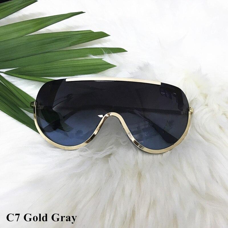 Rimless Gold Clear Sunglasses Men Women Brand Designer Aviator Clear Sunglasses 22