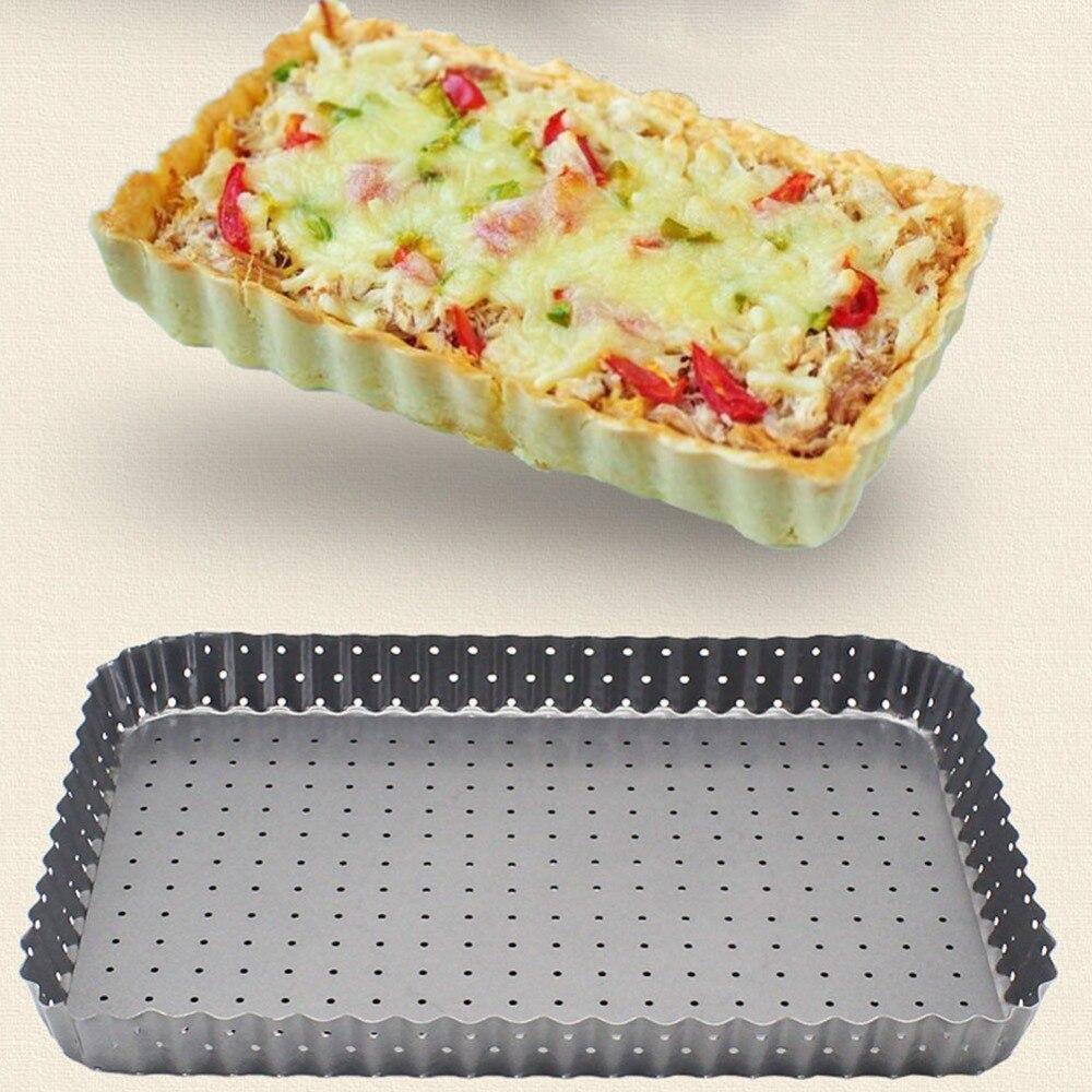 إعادة استخدام شبكة الألومنيوم غير لاصقة شاشة البيتزا المعكرونة صينية الخبز صافي البيتزا حامل خبز للمنزل متجر البيتزا