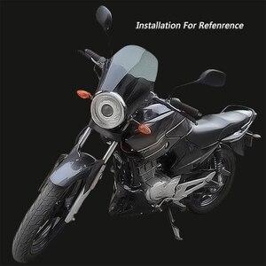 Image 5 - Xe Máy Vòng Đèn Pha Kính Chắn Gió Chắn Gió Cho Xe Honda Kawasaki Yamaha Suzuki Xe Đạp Đường Phố Gió Kính Màn Hình