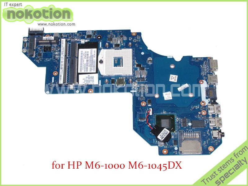 купить NOKOTION QCL50 LA-8713P Rev 1.0 SPS 686928-001 For hp M6 M6-1000 M6-1045DX motherboard SLJ8C HD4000 DDR3 по цене 4737.18 рублей