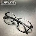 Óculos de armação mulheres homens óculos de armação prescrição óptica ventage rodada círculo de metal hand-made grande projeto especial