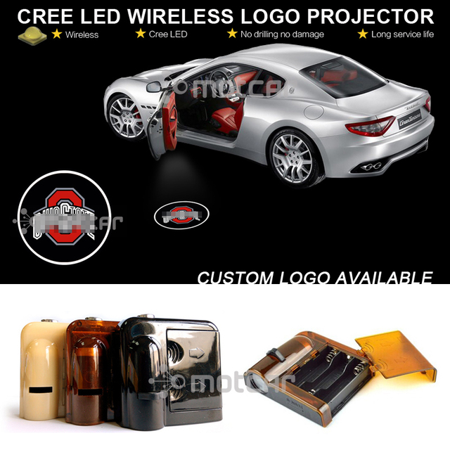 Car Door Step Courtesy Welcome Light Projector Laser Ohio State Buck-eyes GOBO Logo Light  sc 1 st  AliExpress.com & Car Door Step Courtesy Welcome Light Projector Laser Ohio State Buck ...