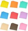 Горячие продажи 6 шт./компл. нетоксичные пены Играть Коврики обычный цвет мягкой складывающейся ползет пены eva пол игра-головоломка для здоровья ребенка