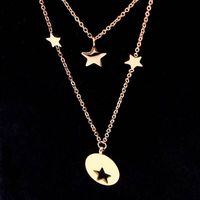 TF 87 Fashion Cute Cat Necklace & Pendant For Women Gift Silver Gold Color Wholesale Trendy Animal Pet Charm Jewelry Colar